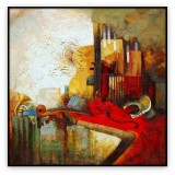 Abstract Collection Vol.3 - 27 - 40x40 inches