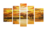 Buytopia-Reduced Multipanel Oil Painting 2