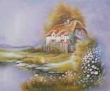 Garden Oil Painting 002