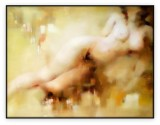 Intimate Contours 002G: 36x48inches