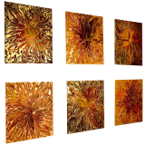 Designer  Multipanel Oil Painting G110