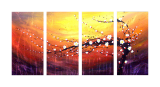 Buytopia-Reduced Multipanel Oil Painting 15