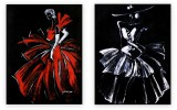 Fashion Collection 001: set of 2 - 30x40 inches each