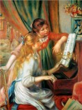 Girls at the Piano (Jeunes Filles au Piano)