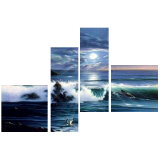 Buytopia-Reduced Multipanel Oil Painting 158