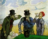 The Drinkers (after Daumier)