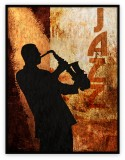 Performing Arts Collection 014G: 36x48inches