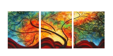 Buytopia-Reduced Multipanel Oil Painting 196