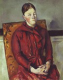 Madame Cezanne in the Yellow Chair