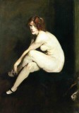 Nude Girl, Miss Leslie Hall