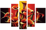 Designer  Multipanel Oil Painting G117