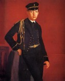 Achille Degas in the Uniform of a Cadet