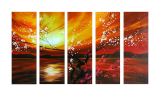 Designer  Multipanel Oil Painting 26