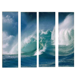 Buytopia-Reduced Multipanel Oil Painting 170