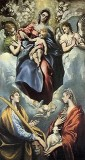 The Virgin and Child with Saints Martina (or Thelca) and Agnes