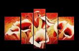 Designer  Multipanel Oil Painting G115