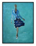 Fashion Collection 053G: 30x40 inches