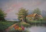 Garden Oil Painting 020