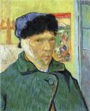 Self Portrait with Bandaged Ear