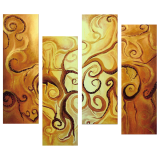 Premium Multipanel Oil Painting 242