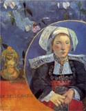 Madame Angele Satre, the Inn Keeper at Pont-Aven