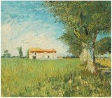 Farmhouse in a Wheatfield