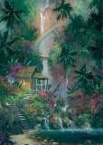 Garden Oil Painting 033