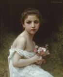 Little Girl with a Bouquet (Petite fille au bouquet)