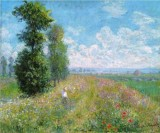 Meadow with Poplars near Argenteuil