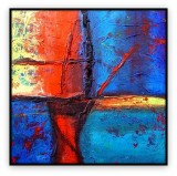 """Abstracts Vol 1 - 004: 40"""" x 40 """""""