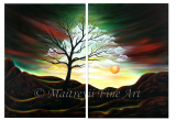Premium Multipanel Oil Painting 215