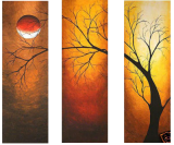 Premium Multipanel Oil Painting 191