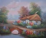 Garden Oil Painting 010