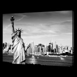 Statue of Liberty BW