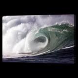 Huge Cresting Wave
