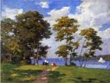 Landscape by the Shore