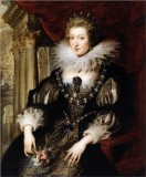 Portrait of the Anne of Austria