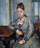 Madame Cezanne Leaning on a Table