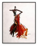 Fashion Collection 036G: 30x40 inches