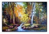 Canadian Landscapes 023G: 36x48inches