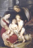 Madonna and Child with St. Elizabeth and St. John
