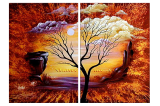Buytopia-Reduced Multipanel Oil Painting 214