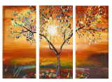 Buytopia-Reduced Multipanel Oil Painting 190