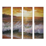 Buytopia-Reduced Multipanel Oil Painting 171