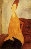 Portrait of Jeanne Hebuterne in Yellow Sweater
