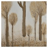Ivory Forest I: 30 x 30 inches