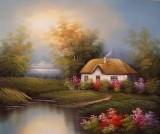 Garden Oil Painting 026