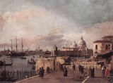 Entrance of The Grand Canal: from The West End of The Molo