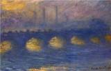Waterloo Bridge, Overcast Weather