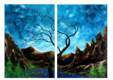 Buytopia-Reduced Multipanel Oil Painting 206